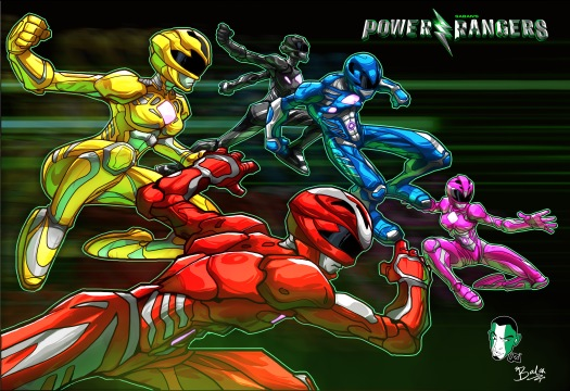 7_Power rangers